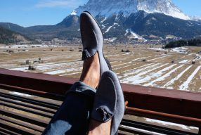 Loden Love: Loafer von Monaco Duck