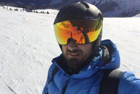 Alles im Visier: Alpina Skihelm