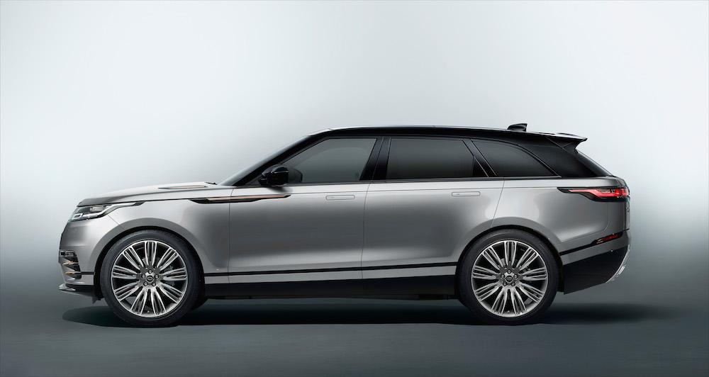 So was von formvollendet: der Range Rover Velar