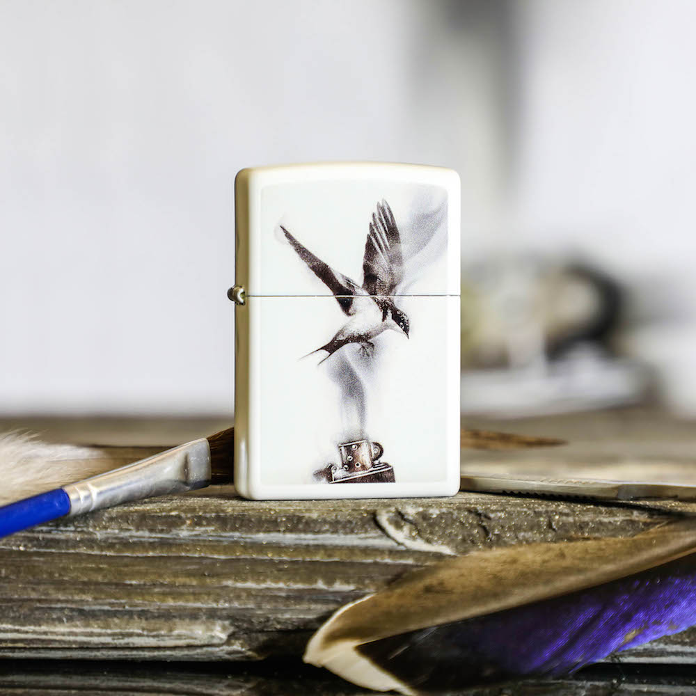Feuerzeug-Kunst, limitiert auf 850 Stück