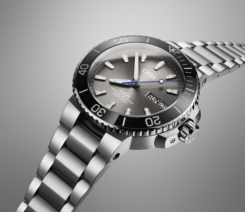 Uhr mit Benefit: die Oris Hammerhead Limited Edition
