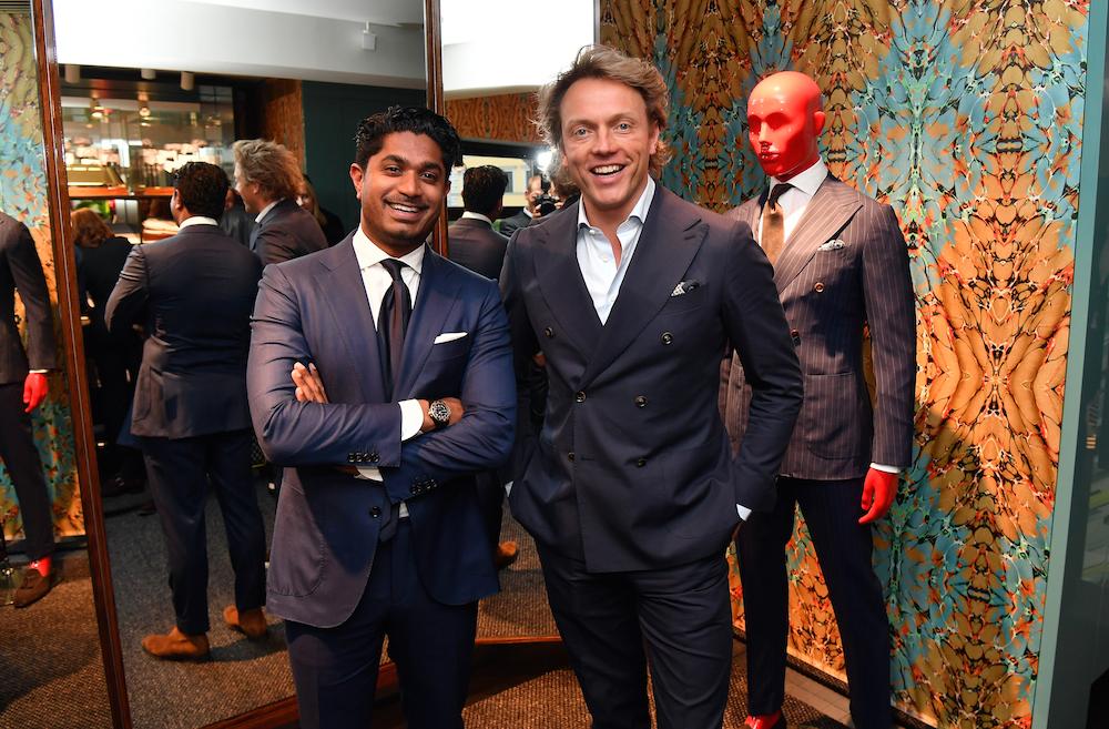 Die Männer hinter Suitsupply: Fokke de Jong (re.) und Nish de Gruiter