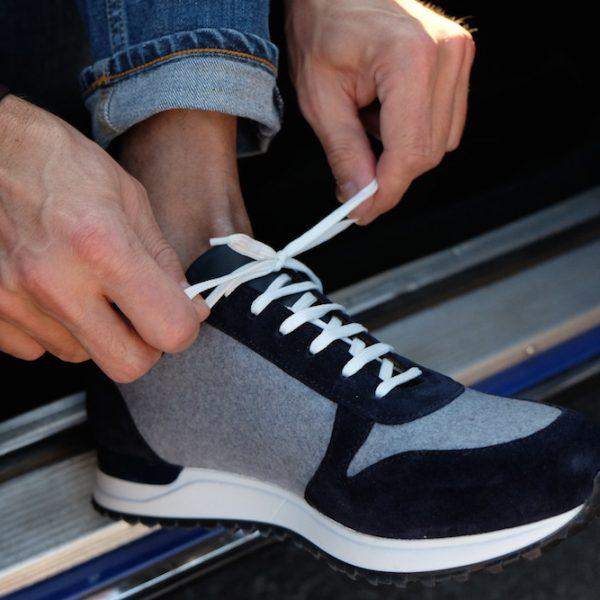 Sind diese Sneaker aus Loden nicht mega cool?