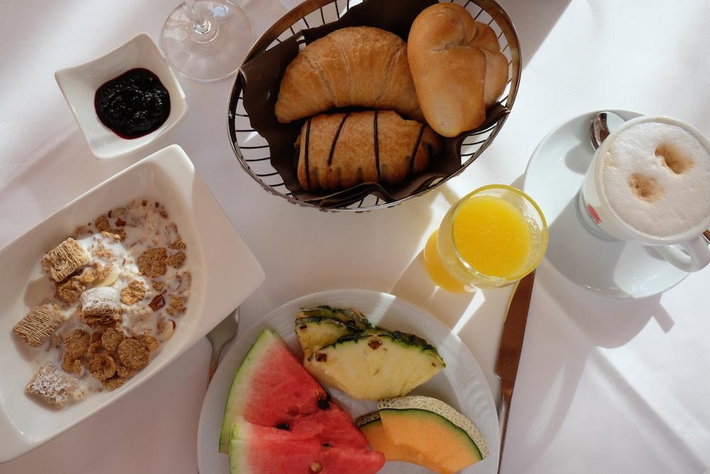 Auch das Frühstück - super!
