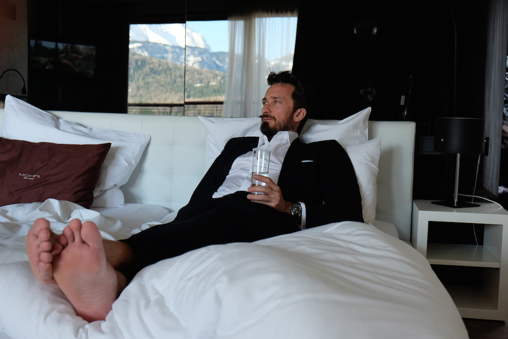 Standesgemäß entspannen - in der 007 Suite