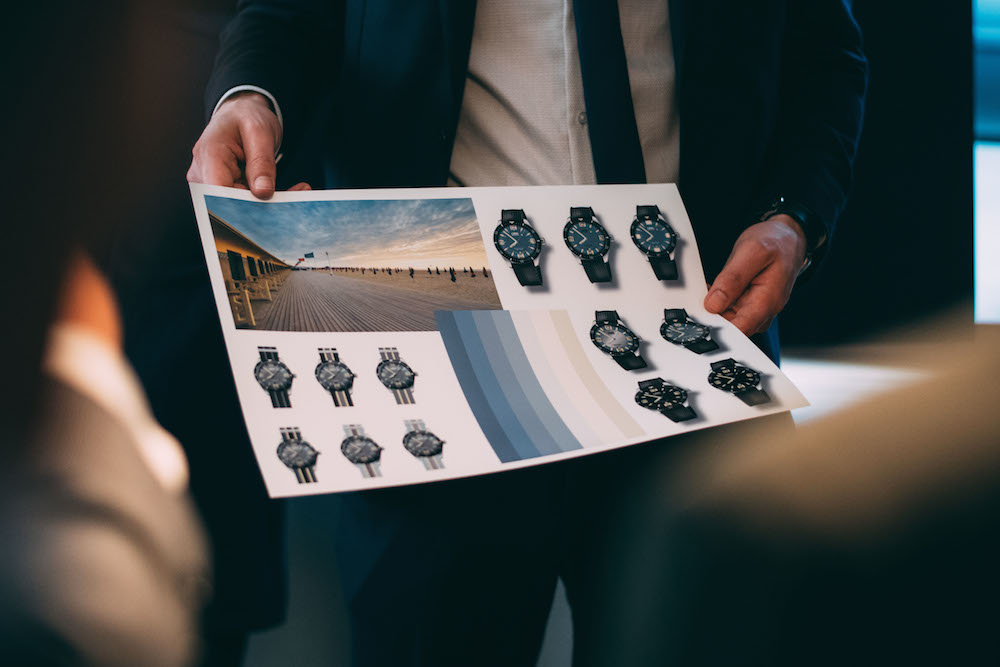 Entwürfe für die Oris Divers Sixty-Five