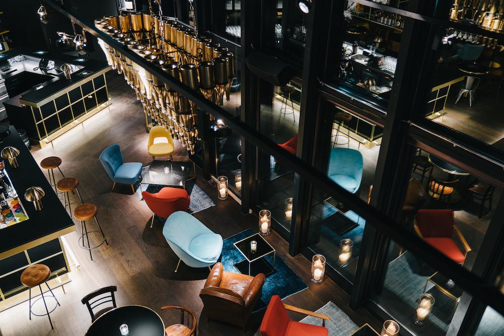 Ort zum Abhängen: die Lounge des Ruby Hotels