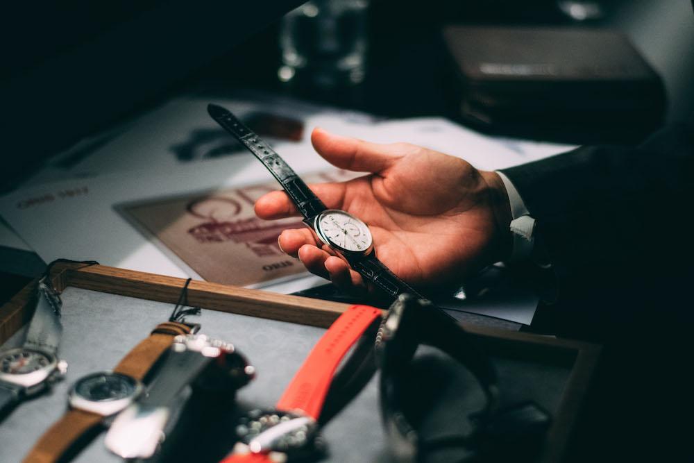 Ein Traum von einer Uhr: die Calibre 113