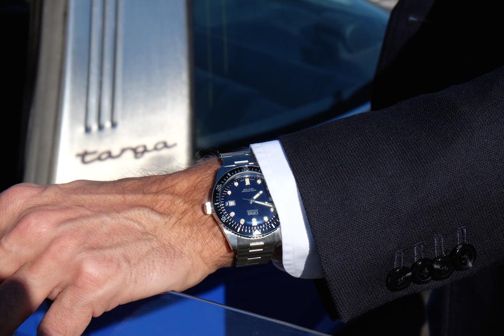 Die Uhr zum Oldtimer: die Oris Divers Sixty-Five