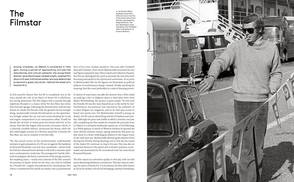 Einer der berühmtesten Porsche-Liebhaber: Steve McQueen