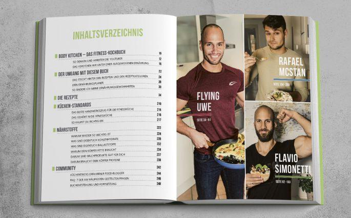 Kochen für mehr Muckis: Body Kitchen