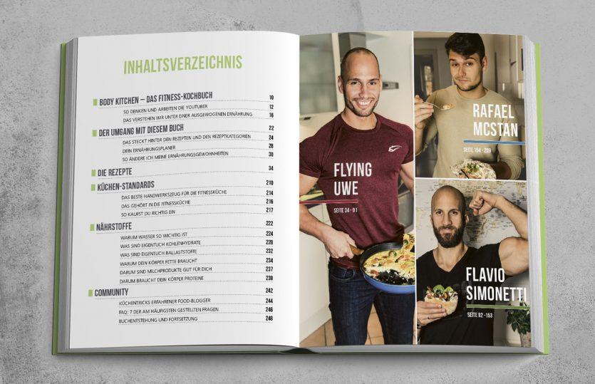 Fitness zum Futtern: Body Kitchen