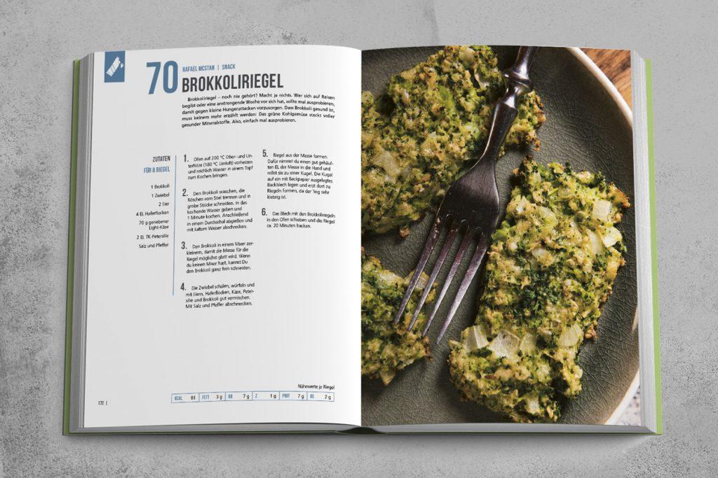 Der perfekte Snack: Brokkoli-Riegel!