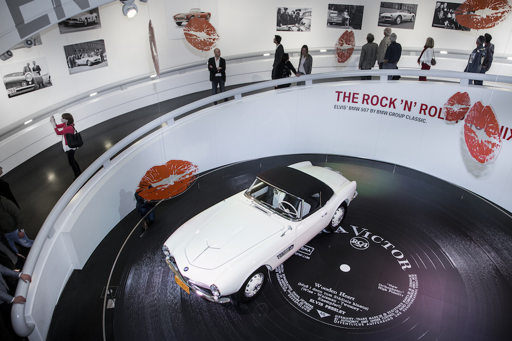 King of the Road: Elvis' BMW 507 im BMW Museum