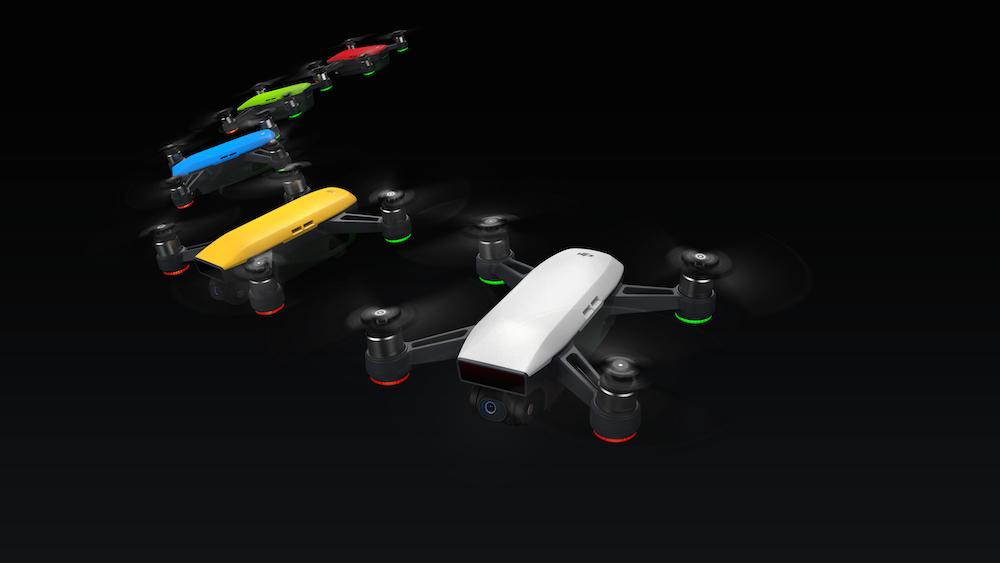 Qual der Wahl: Die Drohne gibt es in diversen Farben