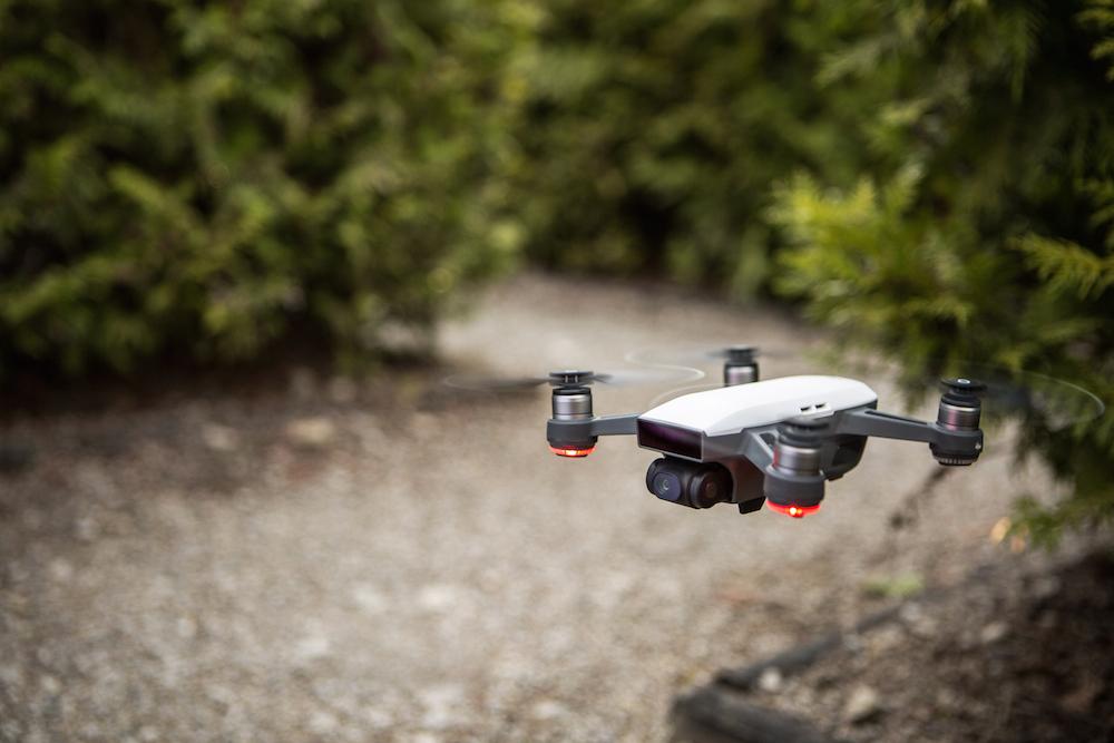 Die Spark ist die perfekte Mini-Drohne