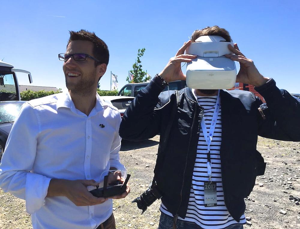 Ich durfte schon mal durch die VR Brille blicken