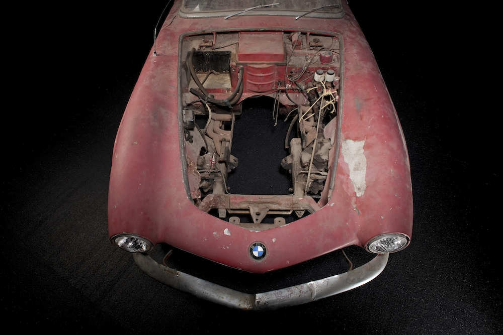 Beim Scheunenfund fehlte sogar der Motor...