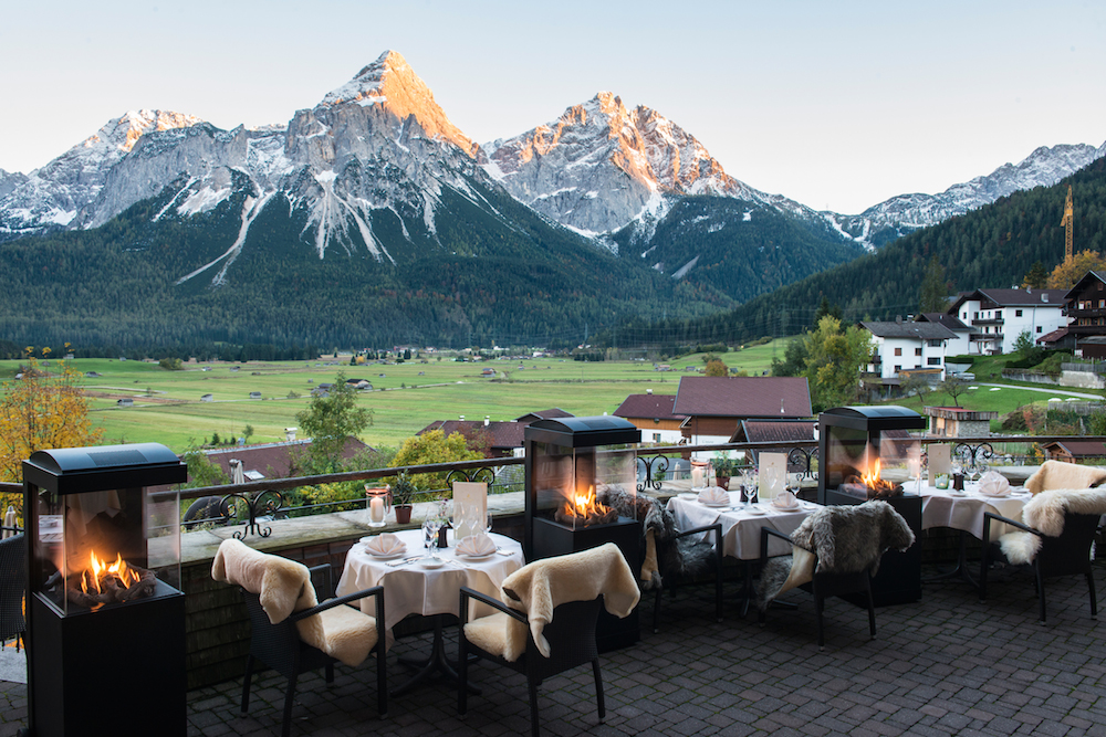 Terrasse mit spektakulärem Ausblick