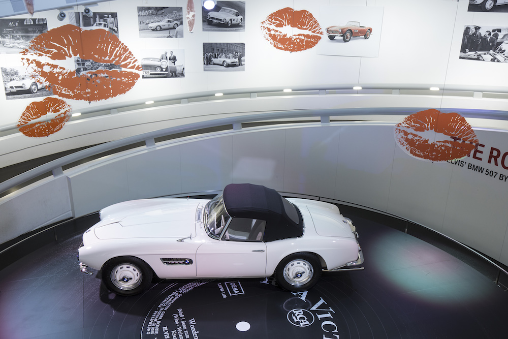 Perfekt restauriert: Elvis' BMW 507