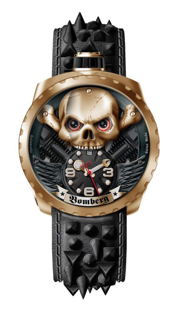 """Verdammt cool: die BOLT68 Skull Rider """"Hellgold"""""""