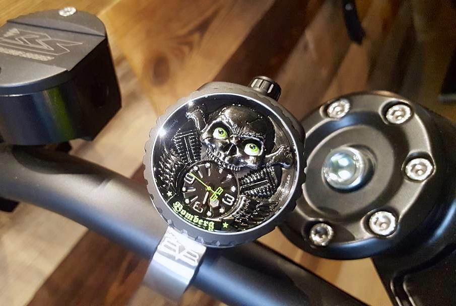 Die Uhr fürs Bike - Hammer!
