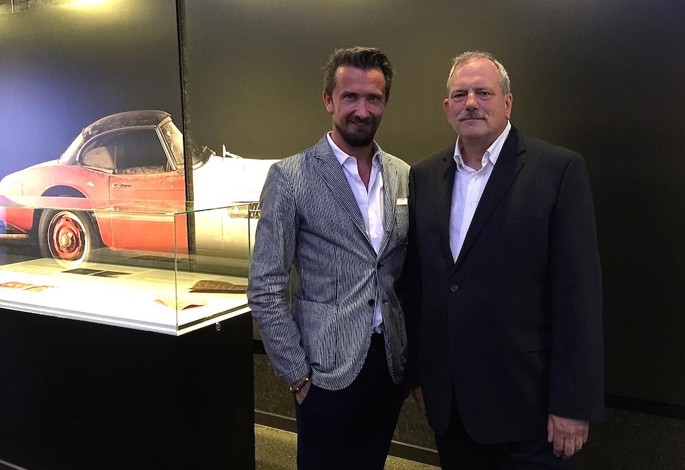 Begegnung mit dem Chef-Restaurator Klaus Kutscher