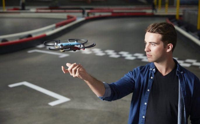 Die neue DJI Drohne Spark - perfekt fürs Selfie