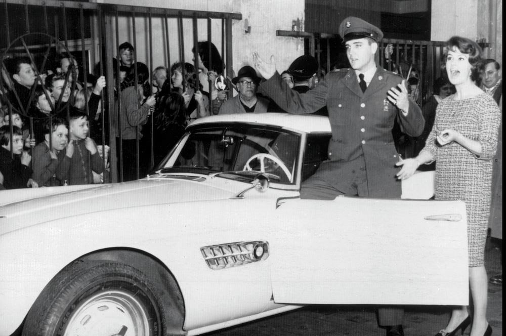 Elvis Presley und der BMW 507