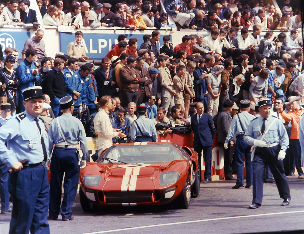 In den 60er Jahren war Le Mans ohne Ford GT nicht denkbar