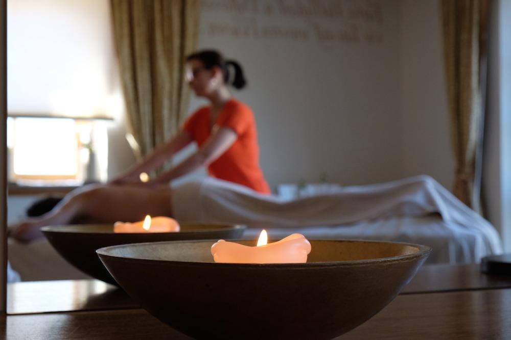 Massage im SPA des Hotel Post Lermoos