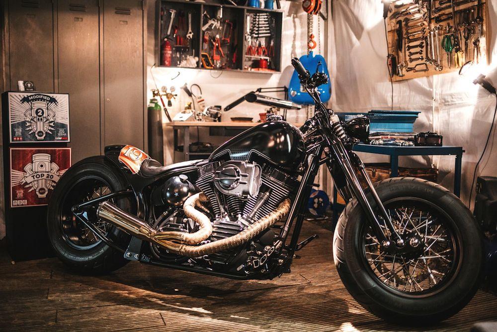 Traumhaft schön - das Bike von Vida Loca Choppers