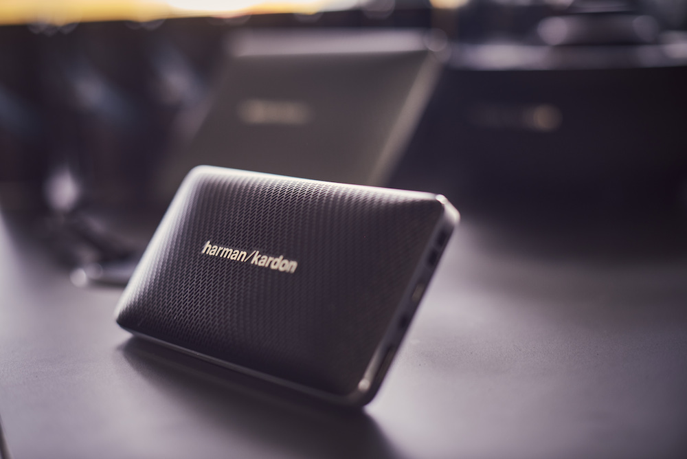 Bluetooth-Boxen von Harman/Kardon, die man in jedem BMW wiederfindet