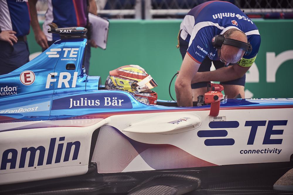 Null Emission, null Lärm, 100 % Racing - die Formula E