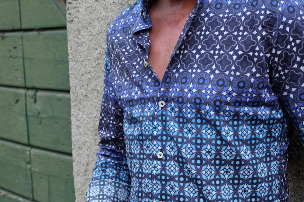 Gemustertes Hemd von Broska