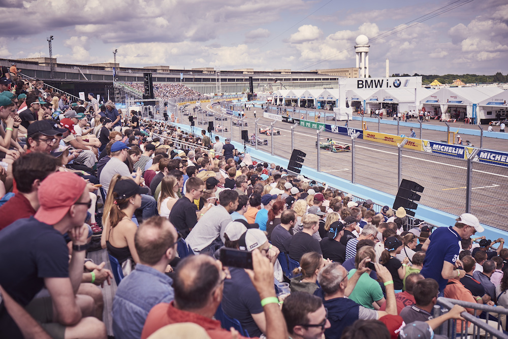 Die Formula E fand in Tempelhof statt