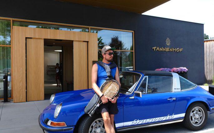 Der Tannenhof ist das perfekte Hotel für Tennis-Aficionados