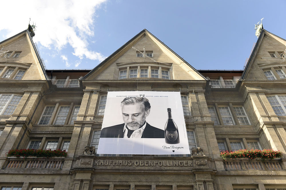 Die Kampagne von Dom Pérignon mit dem Oscar-Gewinner Christoph Waltz