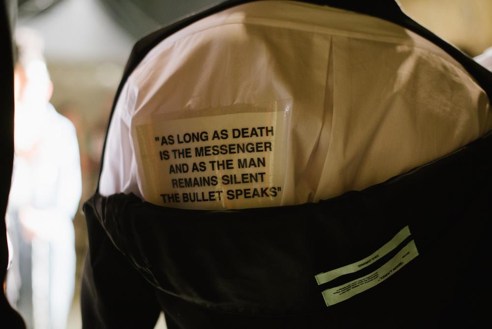 Mode mit Botschaft: Virgil Abloh sieht sich auch als Kommunikator