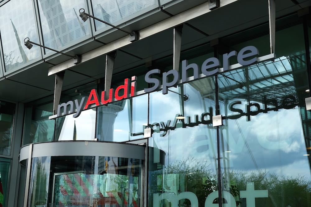 Der Beginn meiner Reise in die Zukunft: das myAudi Sphere am Münchner Flughafen