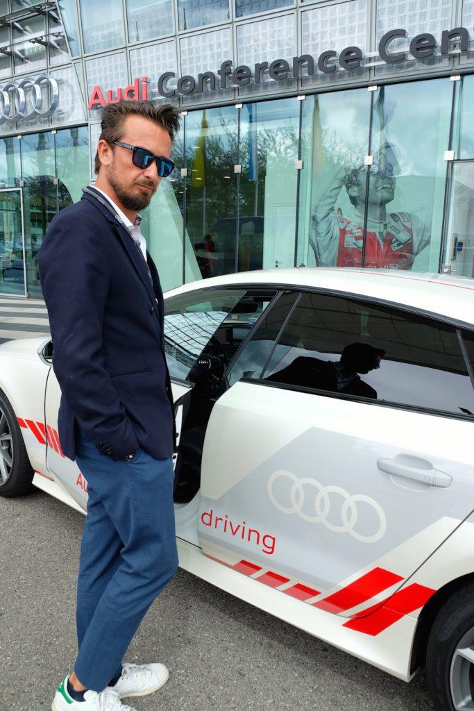 Dem Audi A 7 sieht meine seine Fähigkeiten nicht an...