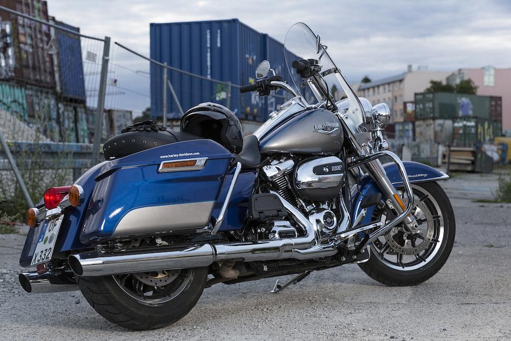 Ein Bild von einem Bike: die Harley-Davidson Road King