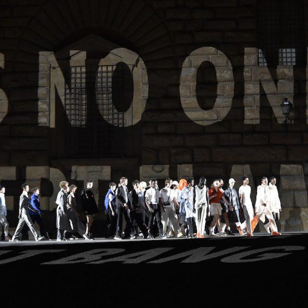 Absolut außergewöhnlich: die Show von Off-White auf der Pitti Uomo