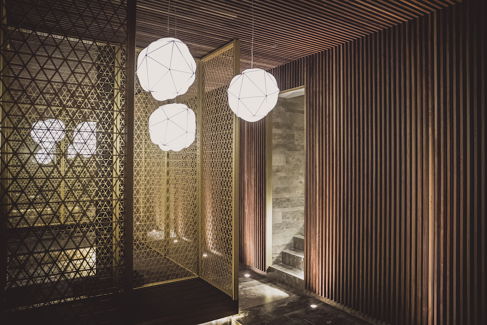 Puristisches, großartiges Design im Mizu Onsen SPA