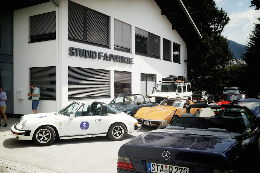 Besuch beim Porsche Design Center