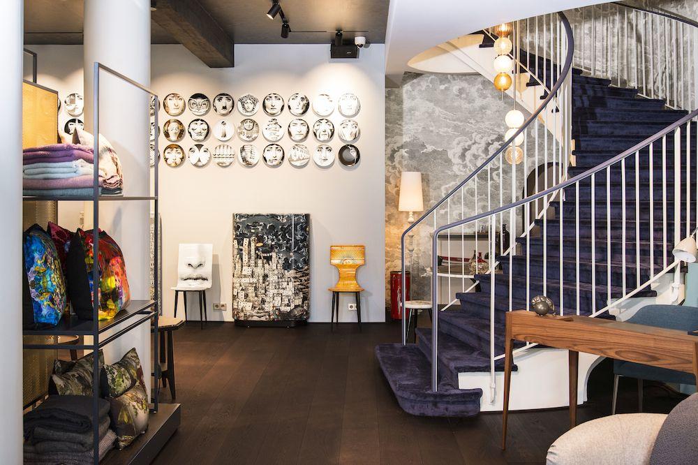 Ein Ort für Fornasetti-Fans - das Münchner Einrichtungshaus Casa Fortunata