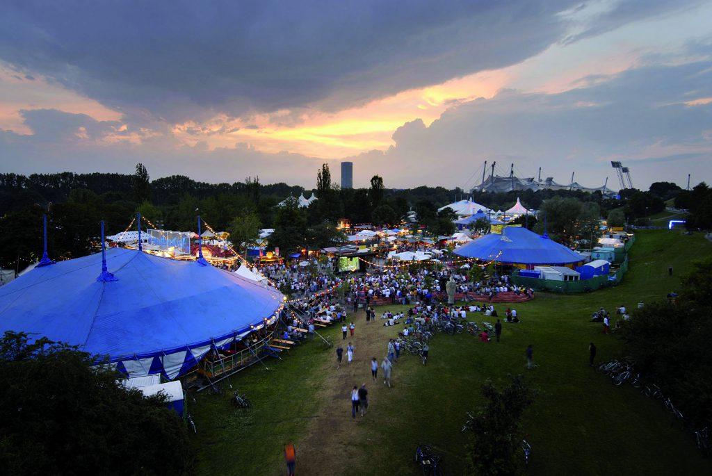Tolle Location fürs Konzert: das Münchner Sommer-Tollwood
