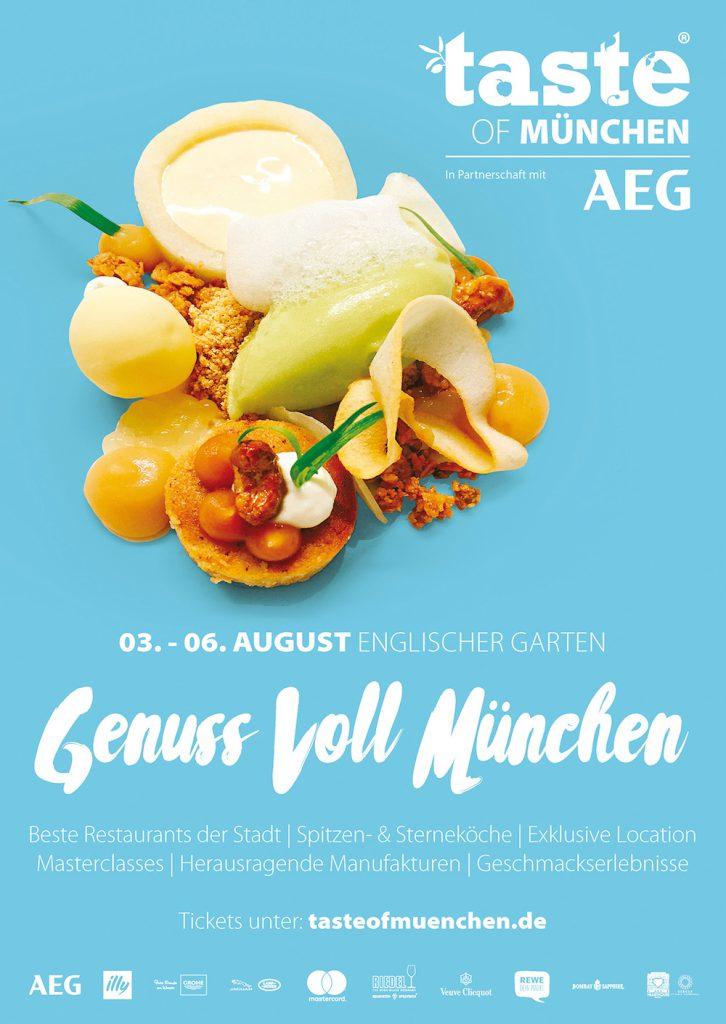 Mit Sicherheit ein einmaliges Event: Taste of München
