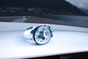 Sommeruhr: Bomberg BOLT-68 Blue Ice Chroma II