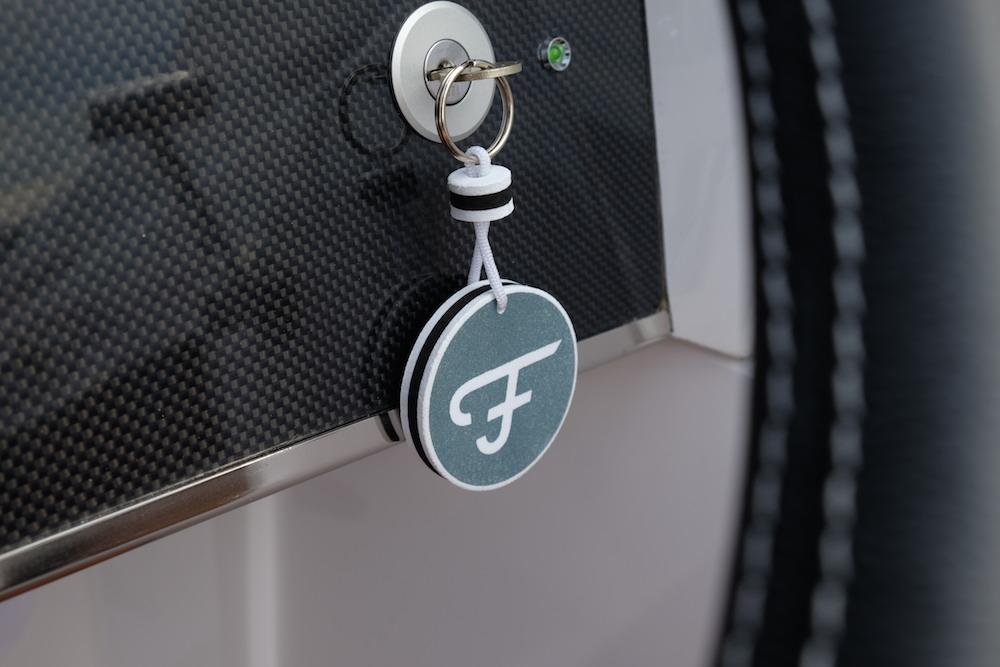 Der Schlüssel zum Frauscher Boot